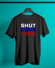 SHUT DOWN THE NRA Classic T-Shirt lifestyle-mens-crewneck-front-3