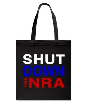 SHUT DOWN THE NRA Tote Bag tile