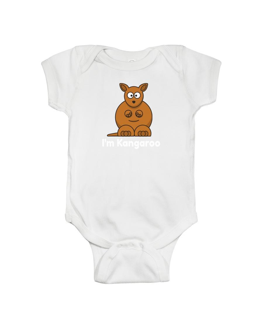 Cute baby onesie with Kangaroo print Onesie