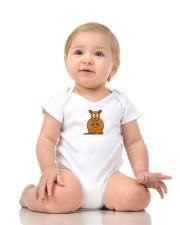 Cute baby onesie with Kangaroo print Onesie lifestyle-onesie-front-2