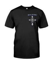 Thin Blue Line T Shirt - Law Enforcement Classic T-Shirt front