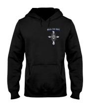 Thin Blue Line T Shirt - Law Enforcement Hooded Sweatshirt thumbnail