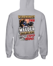 Welder does not play well with stupid people Hooded Sweatshirt thumbnail