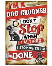 Awesome Dog Groomer 11x17 Poster front
