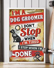 Awesome Dog Groomer 11x17 Poster lifestyle-poster-4