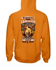 Warning Twisted Mind Carpenter Hooded Sweatshirt thumbnail