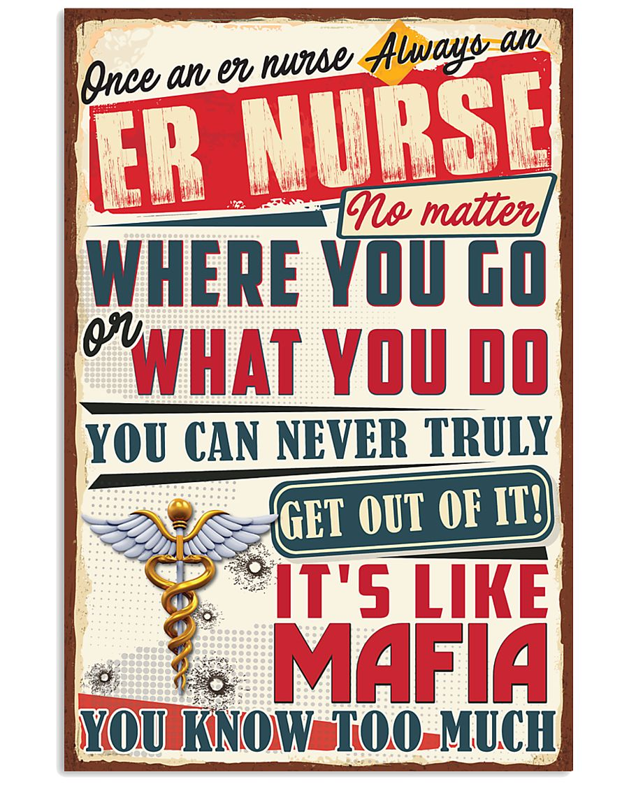 Truly ER Nurse 11x17 Poster