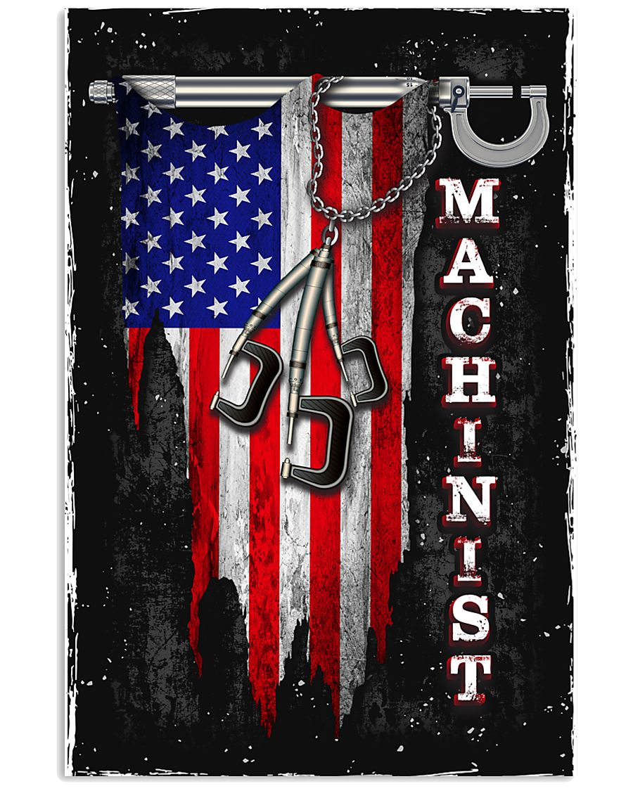 Proud Machinist 11x17 Poster
