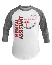 Proud Medical Assistant Baseball Tee front