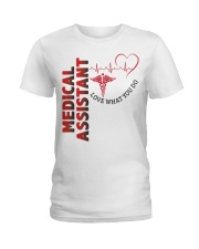 Proud Medical Assistant Ladies T-Shirt thumbnail