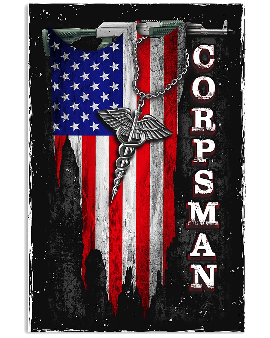 Proud Corpsman 11x17 Poster