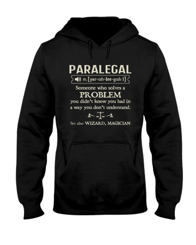 Awesome Paralegal Hoodie