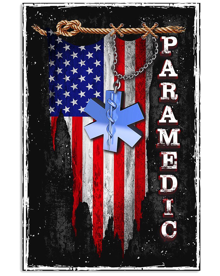 Proud American Paramedic 11x17 Poster