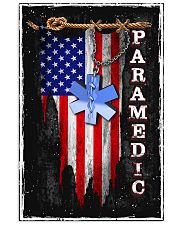 Proud American Paramedic 11x17 Poster front