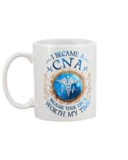 I Became a CNA Mug back