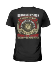 Awesome Ironworker's Mom Shirt Ladies T-Shirt thumbnail