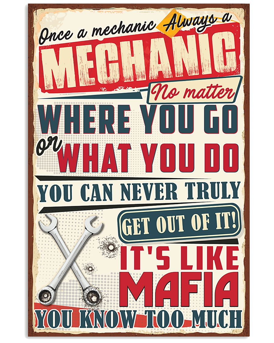 Truly Mechanic 11x17 Poster