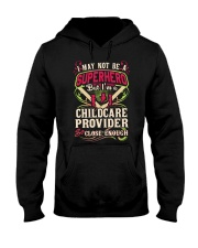 Childcare Provider Superhero Hooded Sweatshirt thumbnail