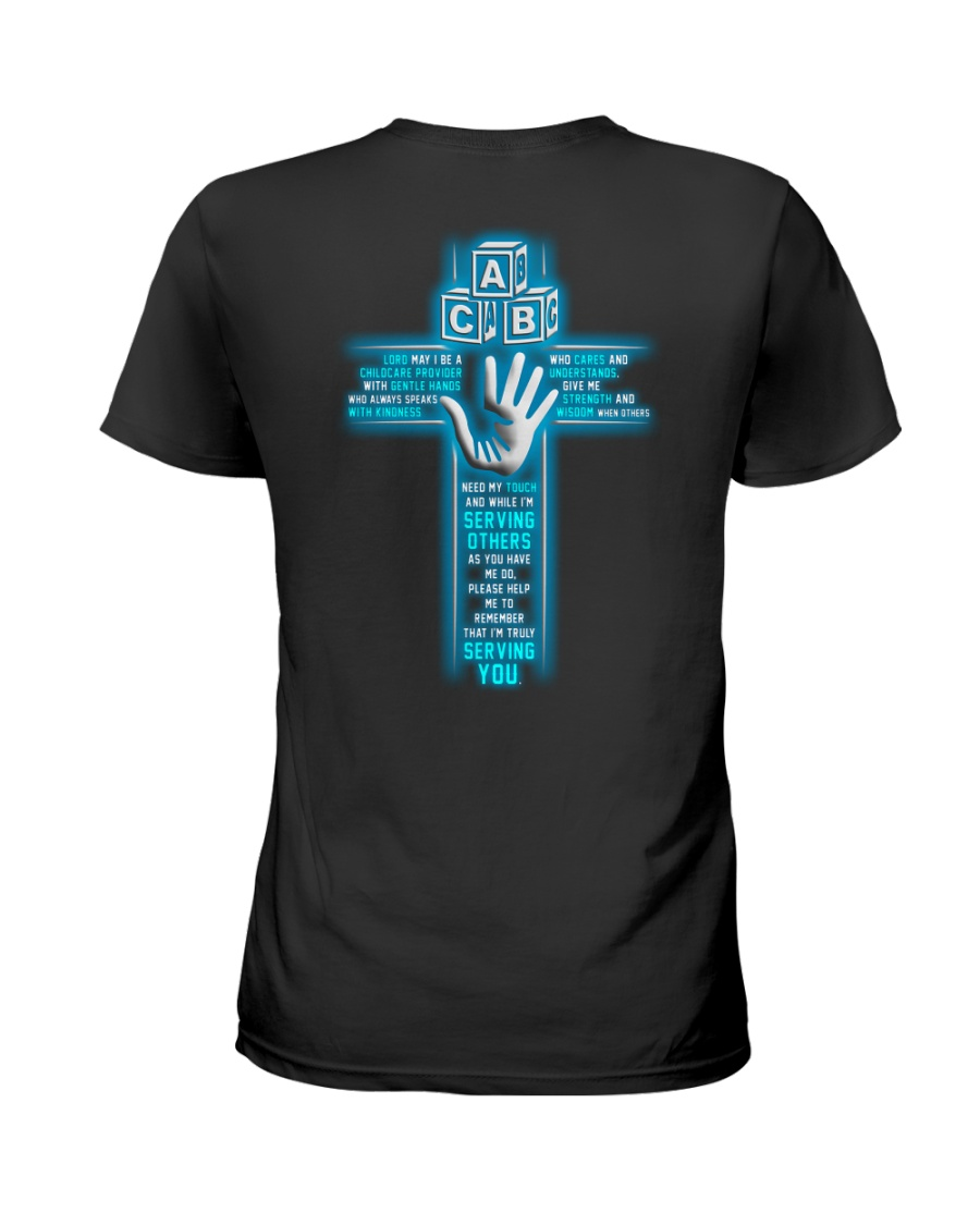 I'M Truly Serving You - Childcare Provider Ladies T-Shirt