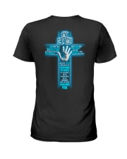 I'M Truly Serving You - Childcare Provider Ladies T-Shirt back
