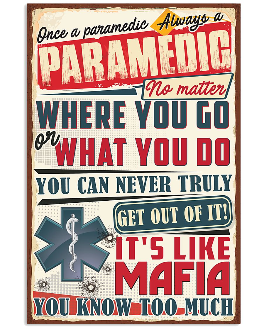 Truly Paramedic 11x17 Poster