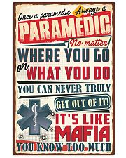 Truly Paramedic 11x17 Poster front