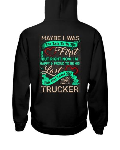 Cute Trucker's Lady Hoodie