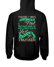 Cute Trucker's Lady Hoodie Hooded Sweatshirt back