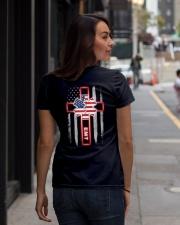 Proud Emt Shirt Ladies T-Shirt lifestyle-women-crewneck-back-1