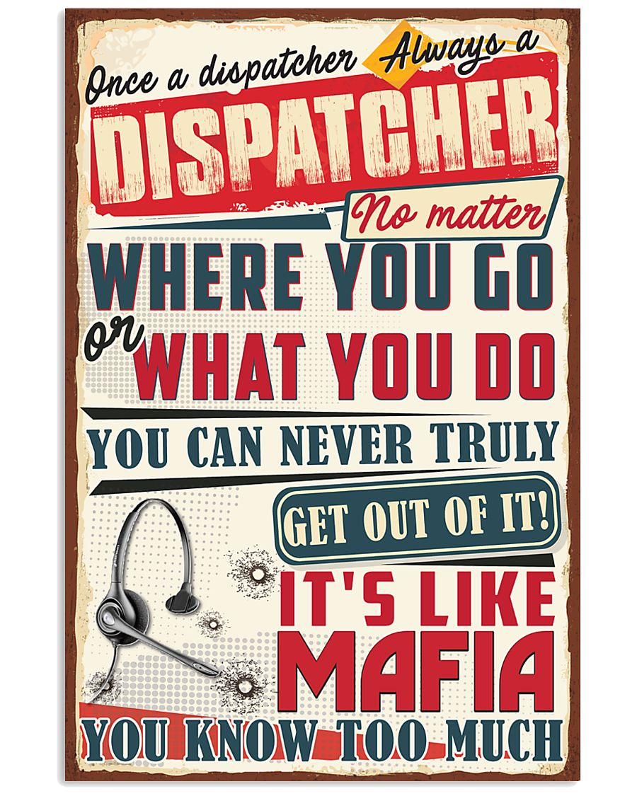 Truly Dispatcher 11x17 Poster