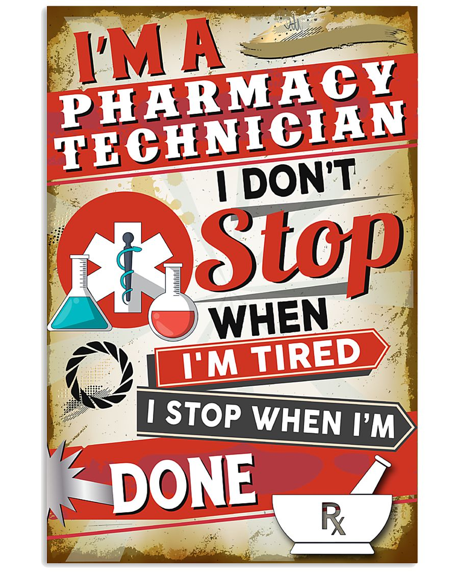 Awesome Pharmacy Technician's  11x17 Poster