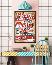 Awesome Pharmacy Technician's  11x17 Poster lifestyle-poster-6