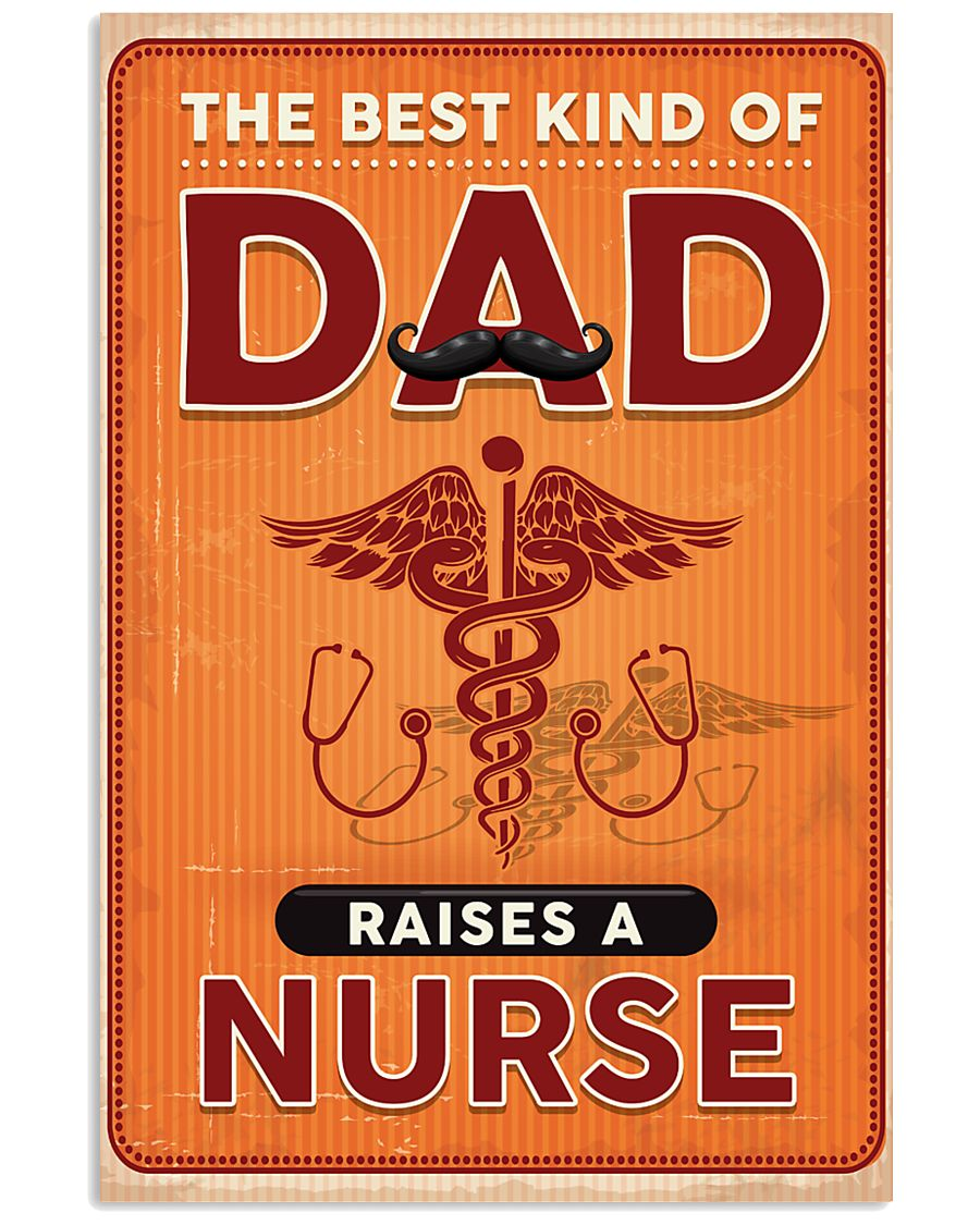 Proud Nurse's Dad 11x17 Poster