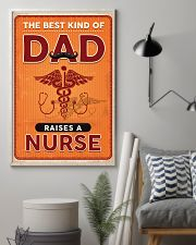 Proud Nurse's Dad 11x17 Poster lifestyle-poster-1