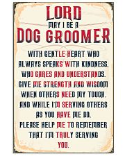 Truly Dog Groomer's 11x17 Poster front