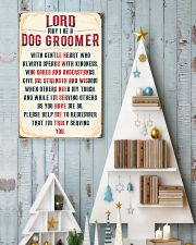 Truly Dog Groomer's 11x17 Poster lifestyle-holiday-poster-2