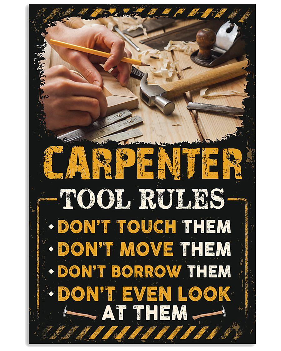 Proud Carpenter 11x17 Poster