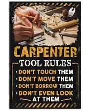 Proud Carpenter 11x17 Poster front