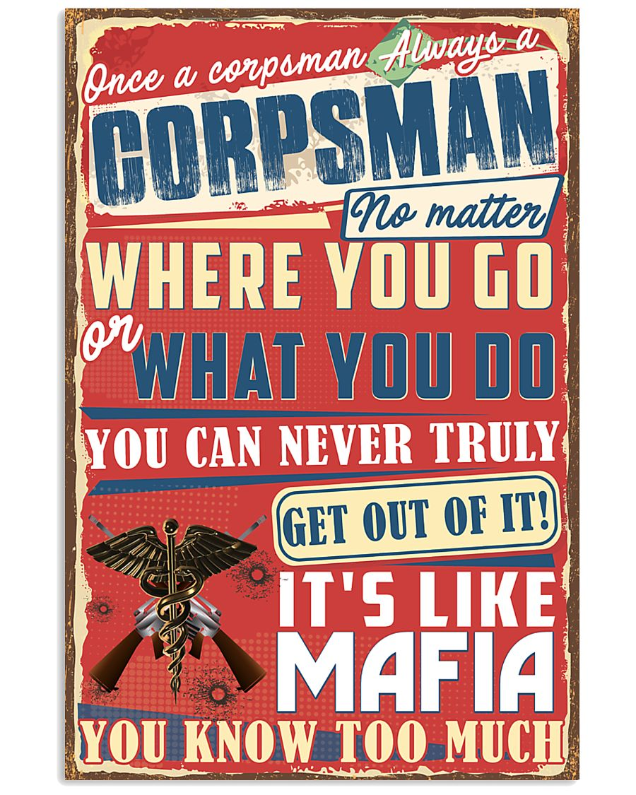 Truly Corpsman's 11x17 Poster