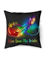 """Bartender Indoor Pillow - 16"""" x 16"""" back"""