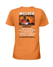 Welder's True Definition Ladies T-Shirt thumbnail