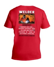 Welder's True Definition V-Neck T-Shirt thumbnail