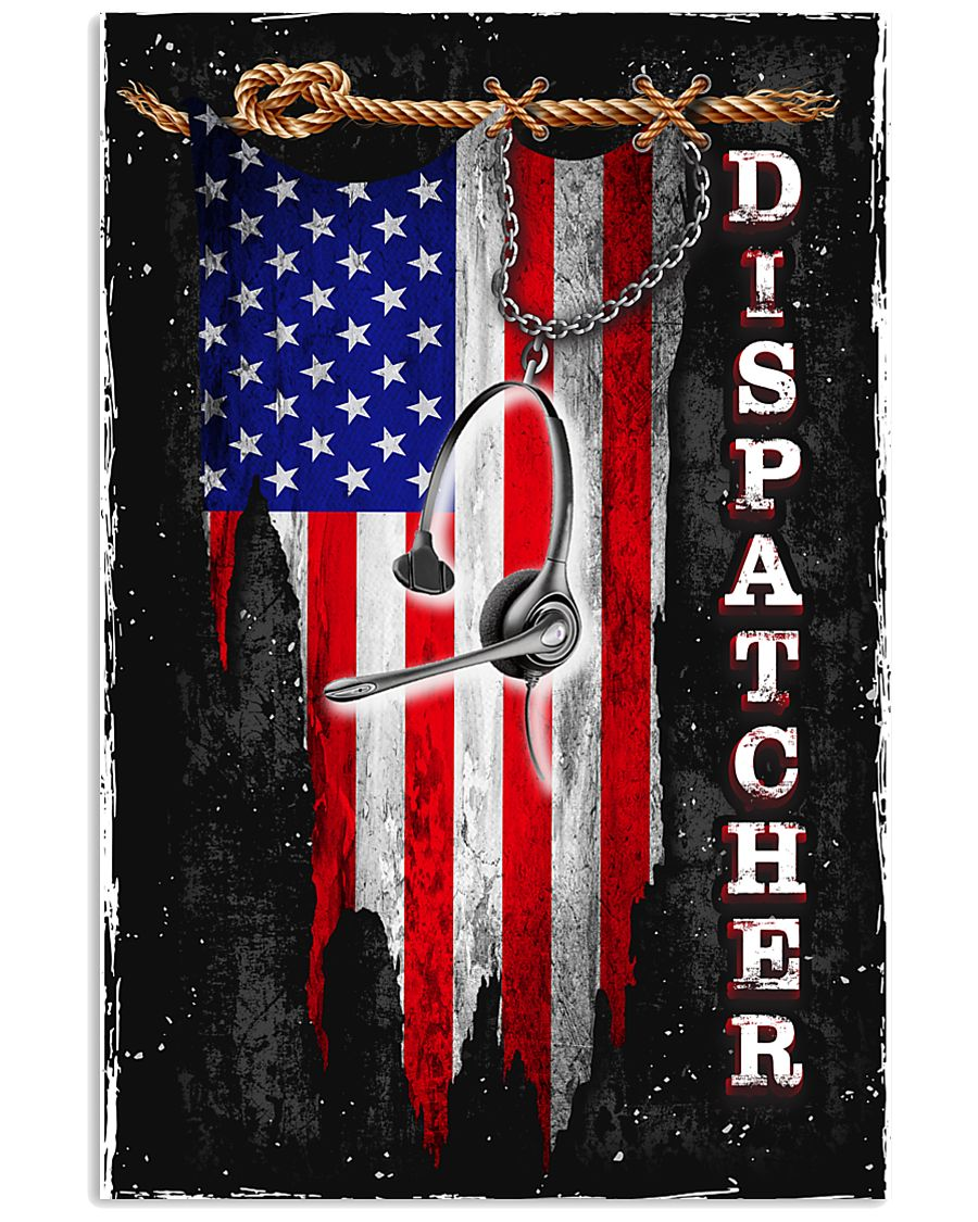 Proud Dispatcher 11x17 Poster
