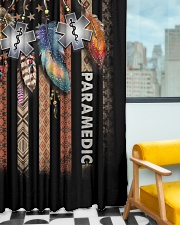 Paramedic USA Flag Window Curtain - Blackout aos-window-curtains-blackout-50x84-lifestyle-front-01