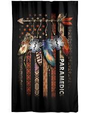 Paramedic USA Flag Window Curtain - Blackout front