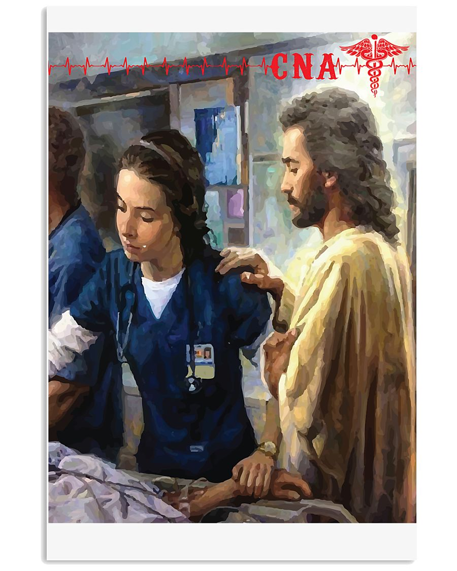 CNA Jesus Canvas Poster 11x17 Poster