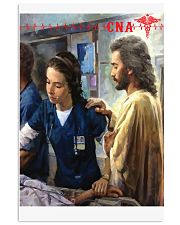 CNA Jesus Canvas Poster 11x17 Poster front