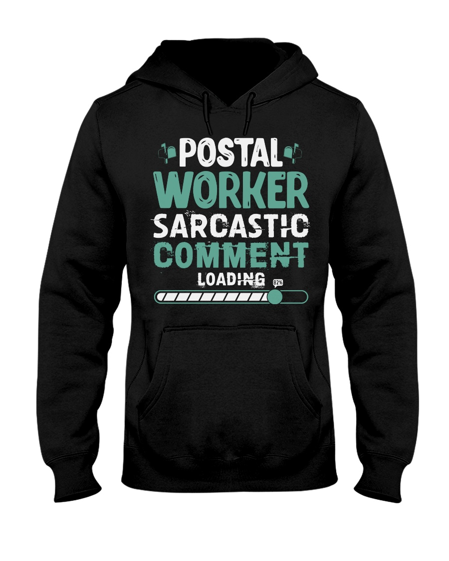 Awesome Postal Worker Hoodie Hooded Sweatshirt