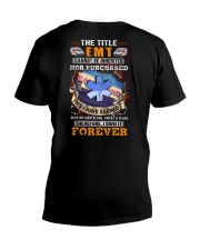 The Title EMT Own it Forever V-Neck T-Shirt thumbnail