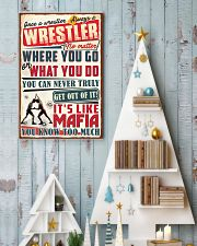 Christmas Special - Wrestler 11x17 Poster lifestyle-holiday-poster-2